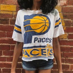 Vintage 1990s NBA Reggie Indiana Pacers Crop Top
